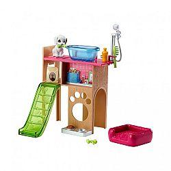 Barbie bútorok kiegészítőkkel - kisállat játszótér (kép 1)