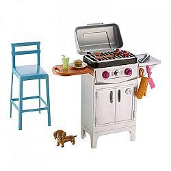 Barbie kerti bútorok kiegészítőkkel - grill (kép 1)