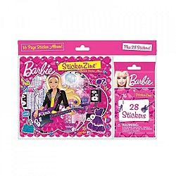 Barbie matricás füzet (kép 1)