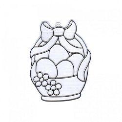 Kifesthető műanyag kép - Húsvéti kosár (kép 1)