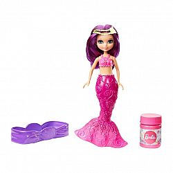 Barbie Dreamtopia Buborékfújó mini sellő - lila (kép 1)