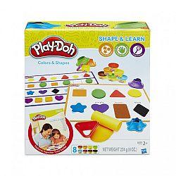 Play-Doh színek és formák gyurmaszett (kép 1)