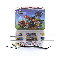 Mancs őrjárat memóriajáték fém dobozban (kép 1)