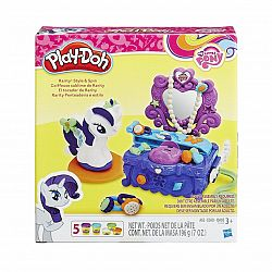 Play-Doh - Én kicsi pónim Rarity szépségszalonja (kép 1)