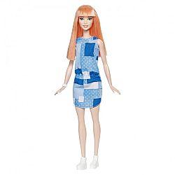 Barbie Fashionista barátnők - vörös kék ruhában (kép 1)