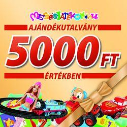 Ajándékutalvány - 5000 Ft értékben (kép 1)