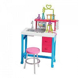 Barbie karrier kiegészítő szett - Vegyész labor (kép 1)