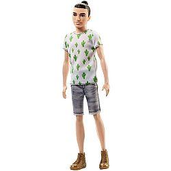 Barbie Fashionista fiú babák - vékony kaktuszos pólóban (kép 1)