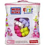 Mega Bloks Nagy lányos építő csomag - 60 db (kép 3)