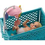 Barbie bébiszitter játékszett - Skipper etetőszékkel (kép 3)