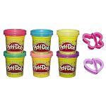 Play-Doh Csillámló gyurmakészlet kiszúróval (kép 2)
