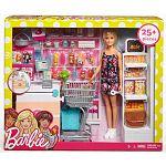 Barbie szupermarket babával (kép 4)