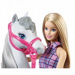 Barbie baba és lovacskája szett (kép 3)