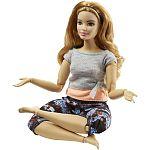 Barbie hajlékony jógababa ÚJ - molett (kép 3)
