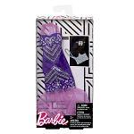 Barbie ruhák - lila csillámló parti ruha (kép 2)