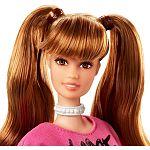 Barbie Fashionista barátnők - magas világosbarna hosszú pulcsiban (kép 2)