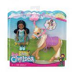 Barbie Chelsea baba pónival (kép 3)