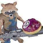 Bosszúállók: Végtelen háború közepes figura kővel - Mordály és Groot (kép 2)