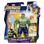 Bosszúállók: Végtelen háború közepes figura kővel - Hulk (kép 3)
