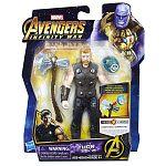 Bosszúállók: Végtelen háború közepes figura kővel - Thor (kép 3)
