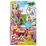 Barbie kutyasétáltató játékszett (kép 2)