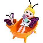 Enchantimals Petal Park házikói - Pillangós fürdő játékszett (kép 2)