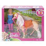 Barbie lovas szett babával (kép 4)
