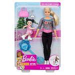 Barbie karrier játékszett - Korcsolya edző (kép 4)