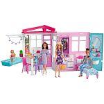 Barbie tengerparti ház babával (kép 2)