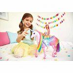 Barbie Dreamtopia csillámfény unikornis babával (kép 4)