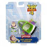 Toy Story 4 minifigurák járművel - Buzz Lightyear (kép 4)