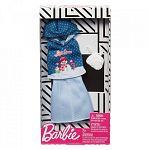 Barbie karácsonyi ruhák - Hóember mintás felső szoknyával (kép 2)