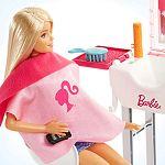 Barbie szoba babával - Fodrászat (kép 2)