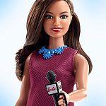 Barbie 60. évfordulós karrier babák - riporter baba (kép 2)