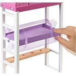 Barbie szoba babával - Íróasztal emeletesággyal (kép 3)
