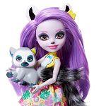 Enchantimals baba állatkával - Larissa Lemúr és Ringlet (kép 2)