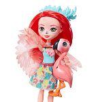 Enchantimals baba állatkával - Fanci flamingo és Swash (kép 2)