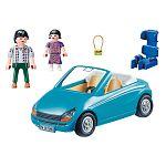Playmobil City Life - Apuka kislánnyal és kabrióval 70285 (kép 3)