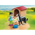 Playmobil Country - Kislány kutyával és kutyaházzal 70136 (kép 2)