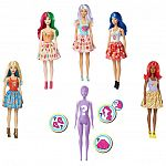Barbie Color Reveal meglepetés baba - finom falatok (kép 6)