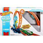 Hot Wheels Track builder - gyorsító hurok játékszett (kép 4)