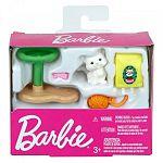 Barbie ház kiegészítők - cica kaparófával (kép 3)