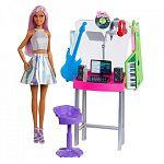 Barbie karrier kiegészítő szett - zenestúdió (kép 2)