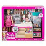 Barbie kávézó babával (kép 5)