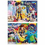 Clementoni supercolor puzzle 2x20 darab - Toy Story 4. (kép 2)