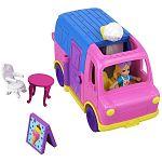 Polly Pocket átalakítható járművek - Fagyis kocsi (kép 2)