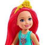 Barbie Dreamtopia Chelsea baba - Pink hajú (kép 2)