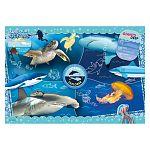 Clementoni supercolor puzzle 104 db - National geographic óceánok (kép 2)