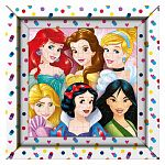Clementoni puzzle képkerettel 60 db - Disney Hercegnők (kép 2)