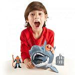 Fisher-Price Imaginext - Óriás cápa játékszett (kép 4)